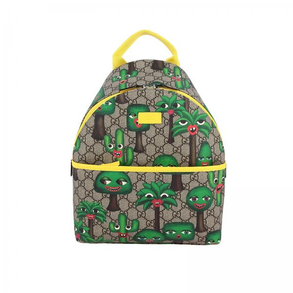 Sac à dos GG Gucci Supreme avec impression cactus all over