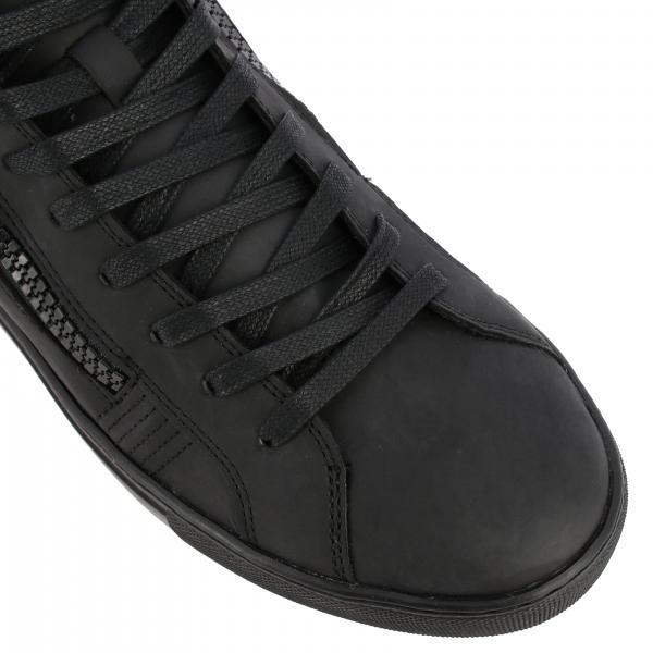 Sneakers Uomo Crime London Nero   Sneakers Java Hi Crime London In Pelle Gommata Con Zip   Sneakers Crime London 11596aa2
