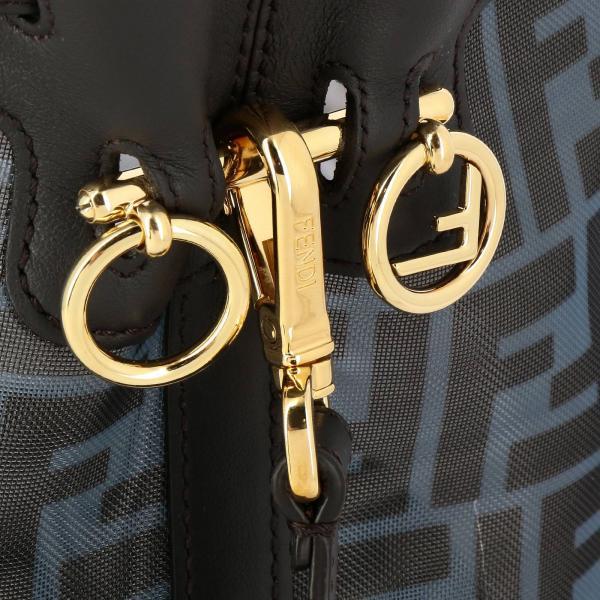 A8hn A Tracolla FendiBorsa Tresor Pelle Logo Ff 8bt298 Secchiello Vera Donna Mon Borse Rete E Con In 5A3L4Rjq