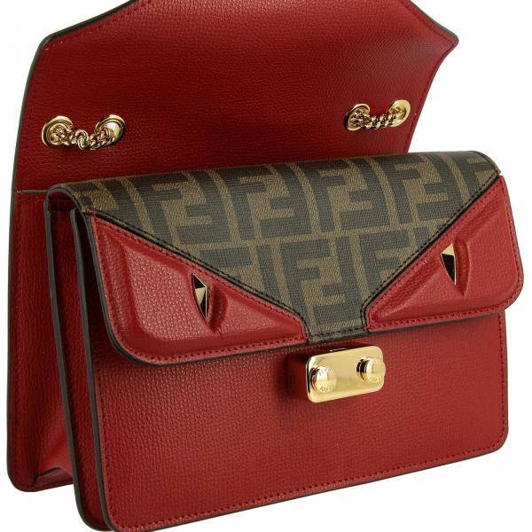 Donna In Pelle A7su FendiBug Small Mini Bags 8bt311 Borsa CedBoWrx