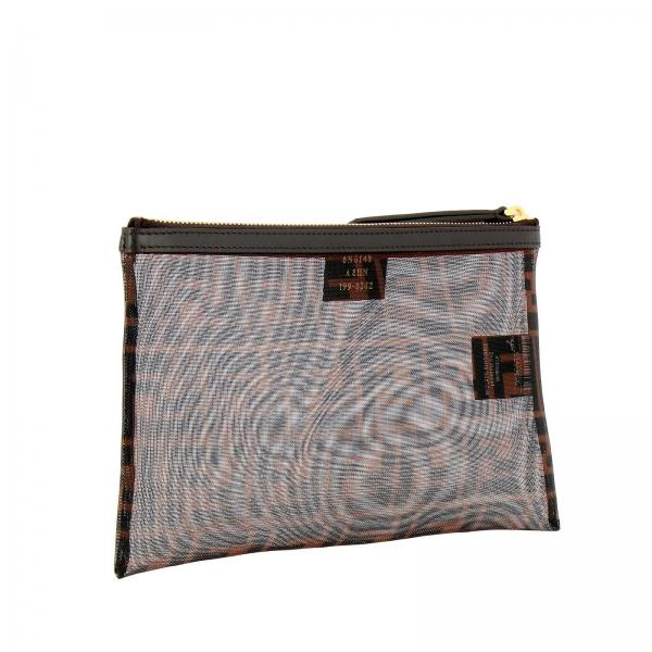 Donna Stampa Ff TabaccoPochette Rete Fendi Borsa Media Maxi A8hn By Con 8n0148 Mini In Micro XnZN8O0wPk