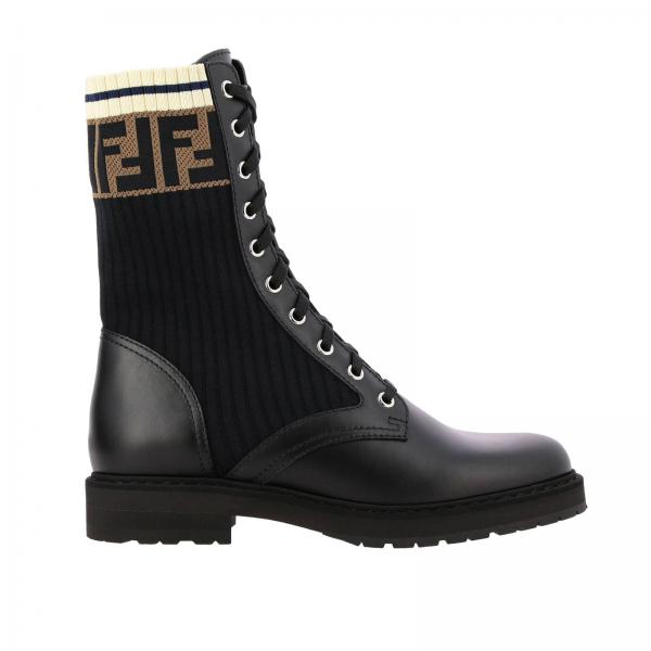 Bottines plates Fendi 8T6780 A3H4