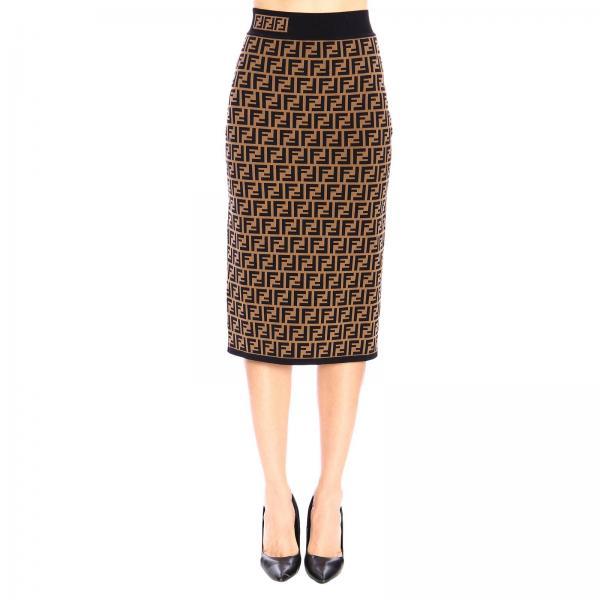 design de qualité 4d55f 9261e jupe femme fendi