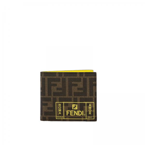 Roma wallet by Fendi with FF all over print