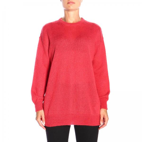 Pull pull over max mara relax en laine mohair Max Mara - Giglio.com