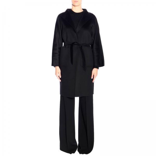 Manteau peignoir Lilia Max Mara en cachemire avec ceinture