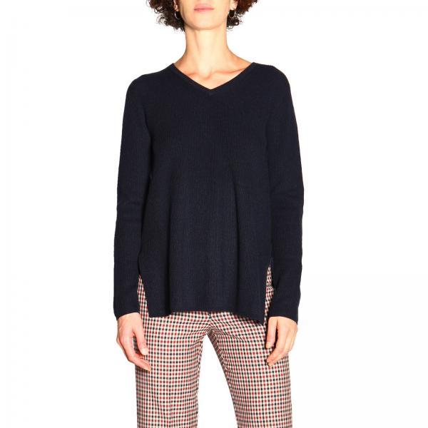 Maglia Falena S Max Mara in cashmere e lana con scollo a V