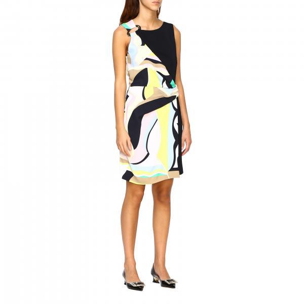 Платье Emilio Pucci с рисунком vallauris