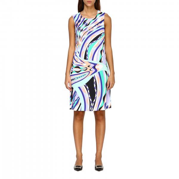 Платье-футляр Emilio Pucci с рисунком burle