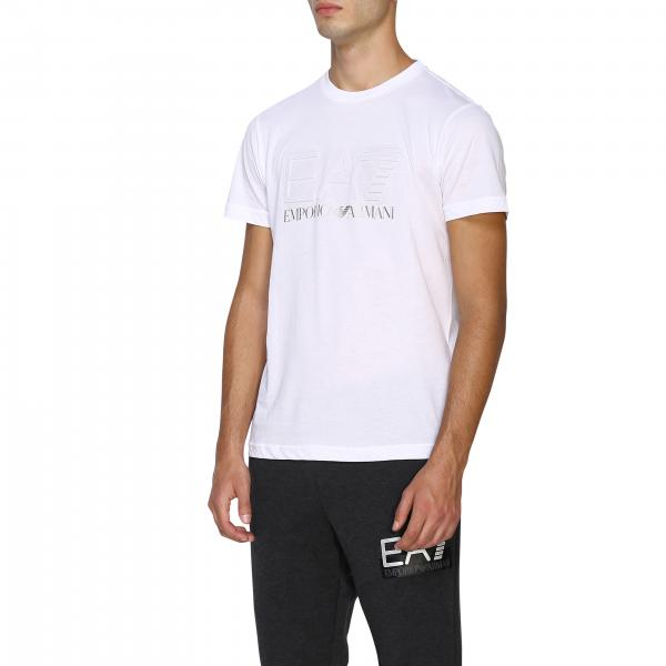 T Corte 6gpt16 Uomo Pjm9z Logo Maniche shirt Con Ea7A knwP80O