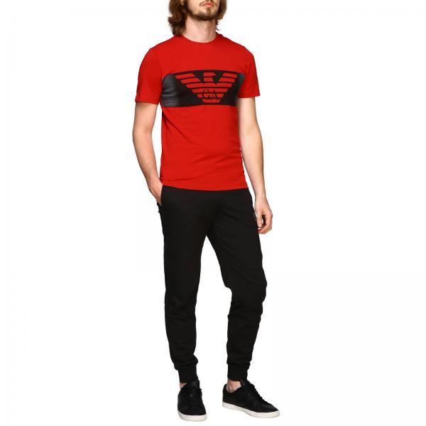 Ea7Felpa Pantalone Con 6gpp75 Polsino E Uomo Logo Pj05z 1TJlFKc