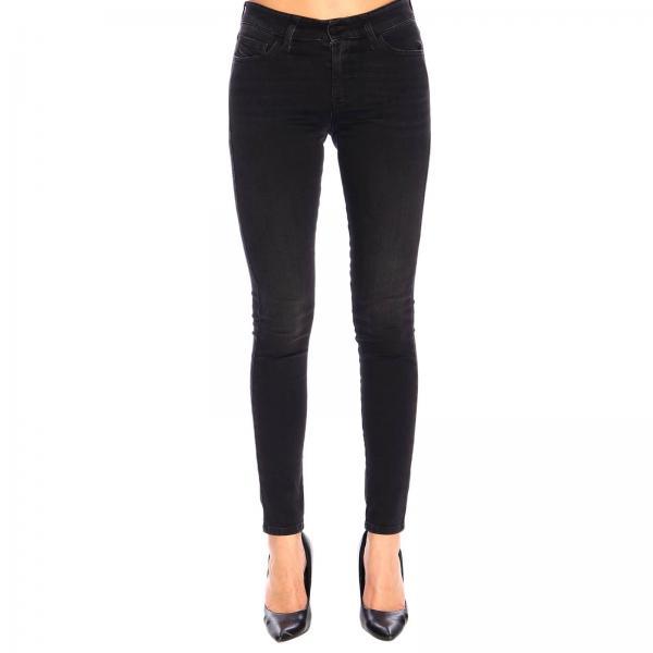 Super Skinny Stretch Diesel Jeans mit normaler Taille und 5-Taschen
