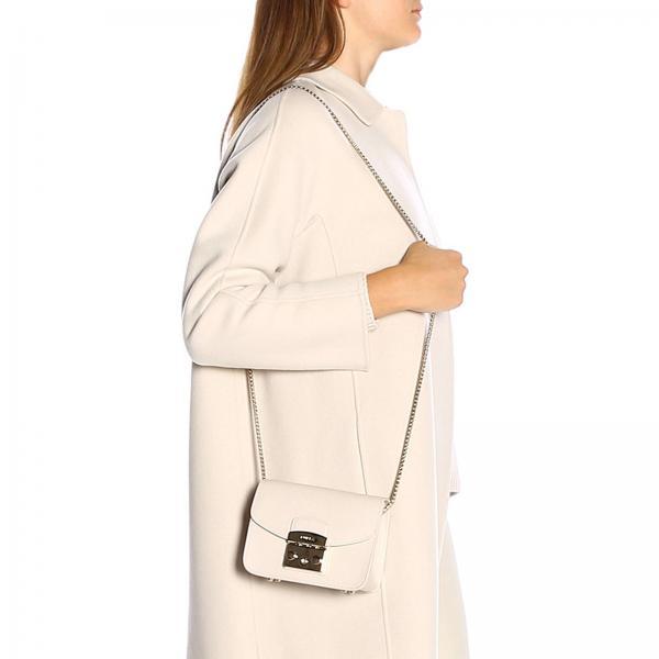 CordaMetropolis Donna Con 1021854 Bgz7 Pelle Furla Tracolla Mini Borsa Texturizzata In mwv08nPyON