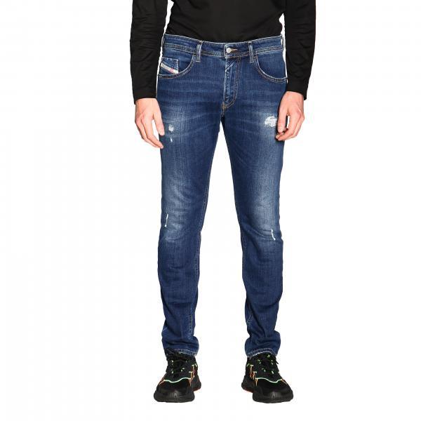 Jeans Thommer a 5 tasche slim skinny stretch in denim