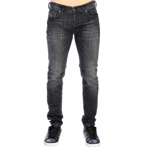 Diesel Sleenker Stretch skinny jeans in denim with 5-pockets
