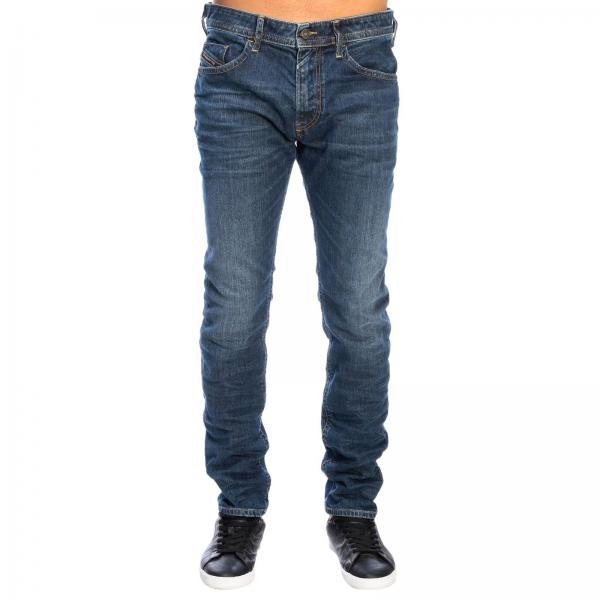 Diesel Thommer Slim skinny stretch denim jeans with 5 pockets