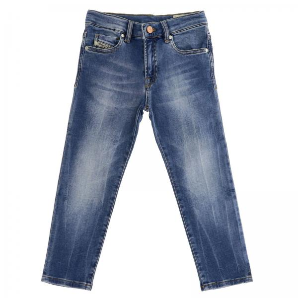 Jog Diesel Slim Jeans aus Stretch Used Denim