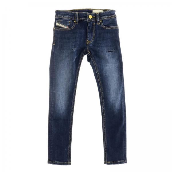 Jeans Sleenker Diesel in denim stretch used slim