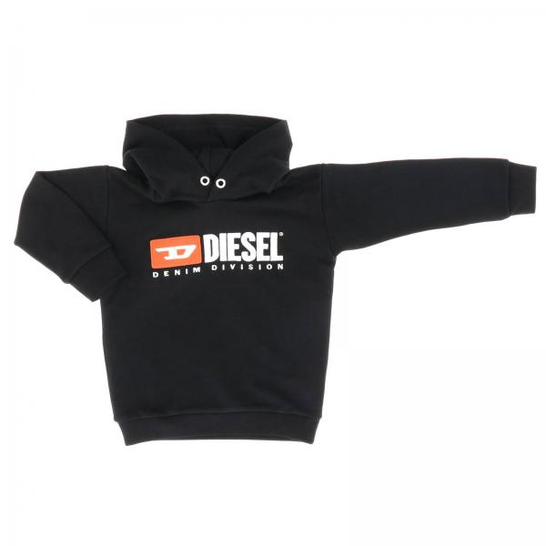 Diesel sweatshirt with hood and logo