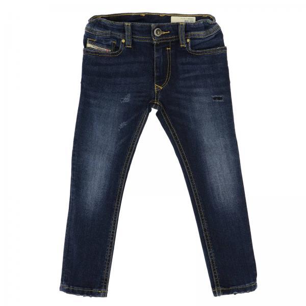 Jeans Sleenker Diesel in denim stretch used slim