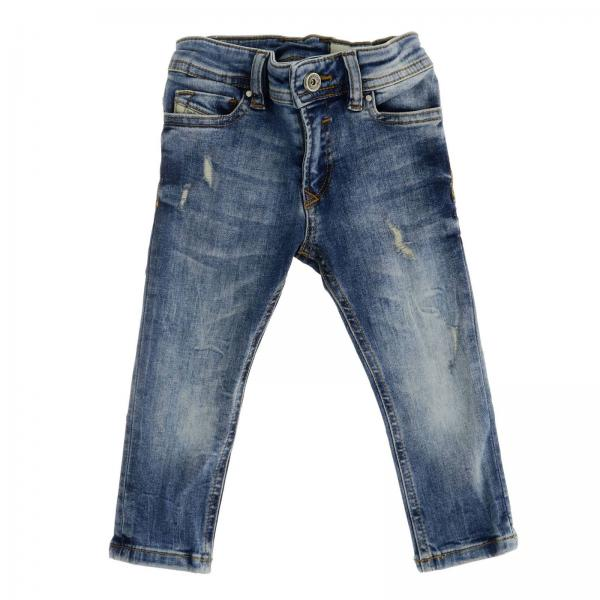 Jeans Sleenker Diesel jeans en denim stretch usé slim