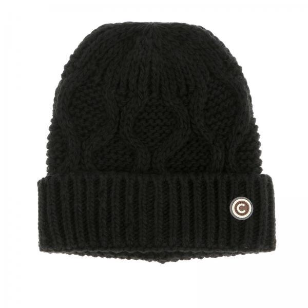Colmar logo装饰羊毛帽子