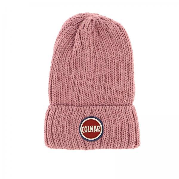 Bonnet Colmar en laine nervurée avec logo