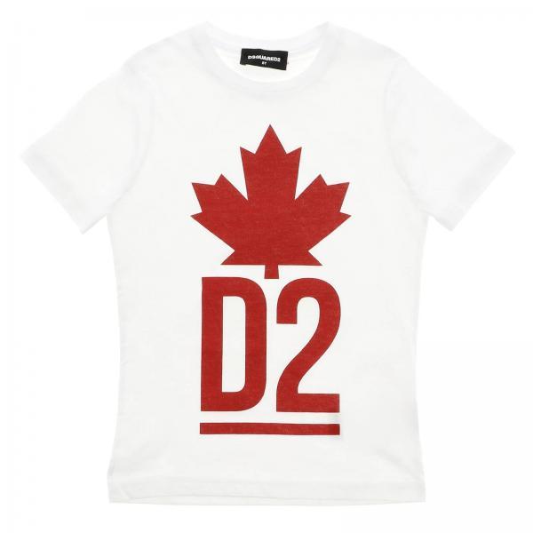 T-shirt Dsquared2 à manches courtes avec logo d2