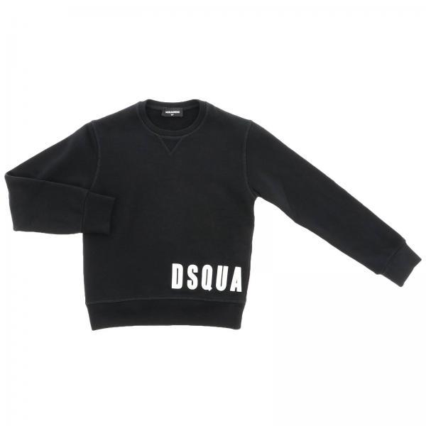 Dsquared2 Junior logo印花长袖卫衣