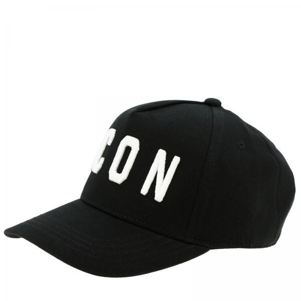 Cappello da baseball Dsquared2 Junior con maxi ricamo Icon