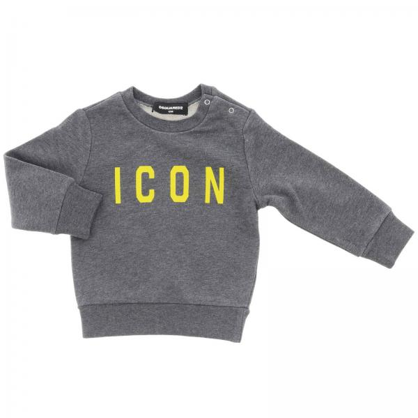 Dsquared2 Junior icon印花长袖卫衣