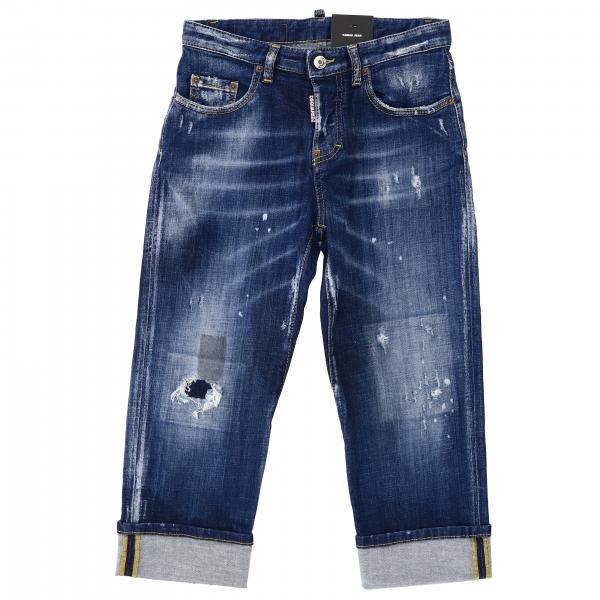 Friend denim used slim stretch con rotture