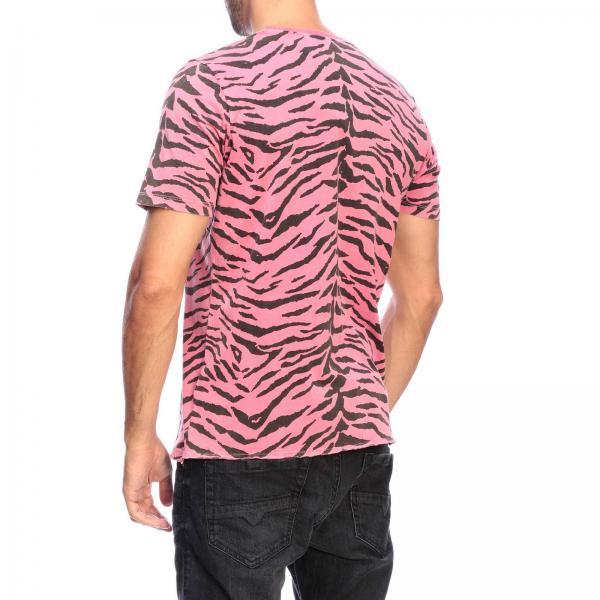 shirt Uomo Stampa Laurent 577096 T Ybih2 Girocollo Con Zebrata Saint RosaA c4ALq35Rj