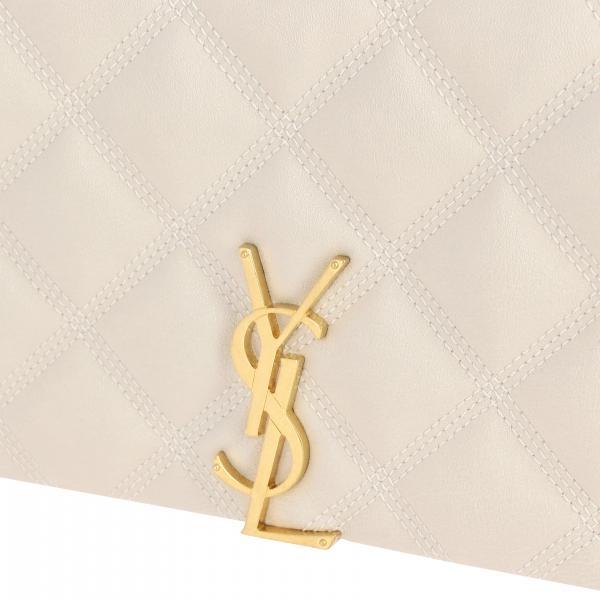 Pelle Mini Con Ysl In 1d319 Monogramma 585031 Donna Chain Wallet Saint LaurentBecky Borsa Trapuntata hCQxrdstB