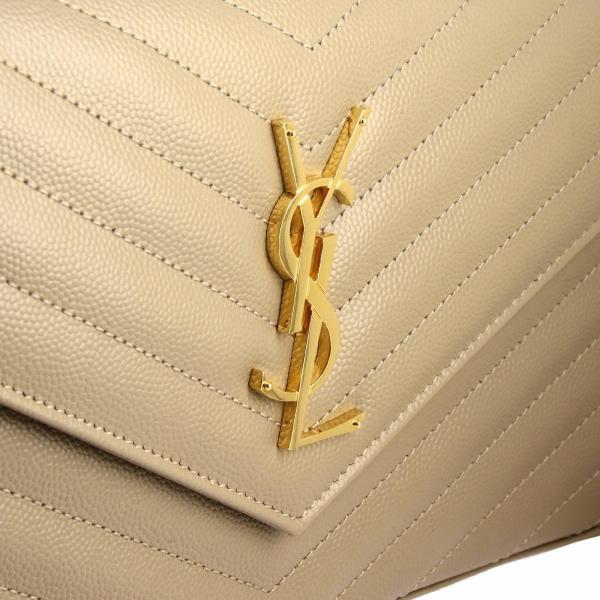 Poudre Pelle In Con Ysl Donna Wallet Mini Bow01 Saint De LaurentMonogram Borsa 377828 Monogramma Grain Trapuntata Chain PuXiOkZ