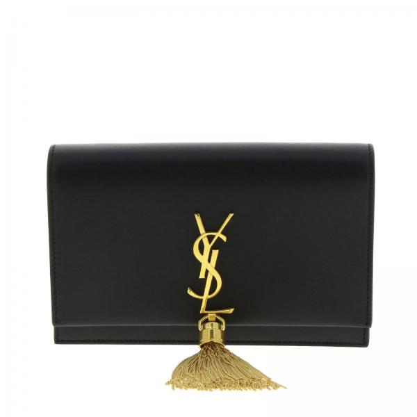 Borsa Kate Monogram YSL chain wallet in vera pelle