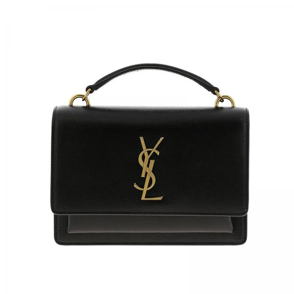 Borsa Sunset Monogram YSL chain wallet in vera pelle