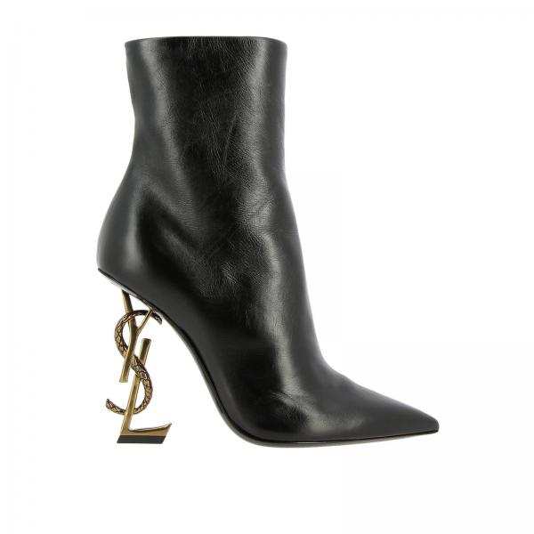 Heeled ankle boots Saint Laurent 578922 1FZDD