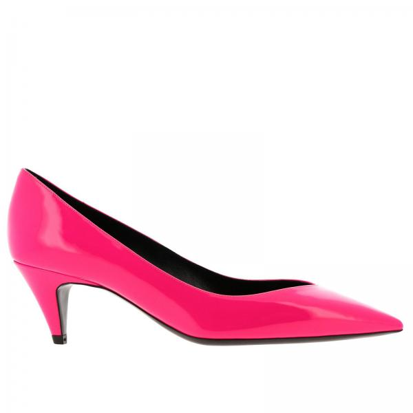 Charlotte Saint Laurent pointed toe in fluo paint