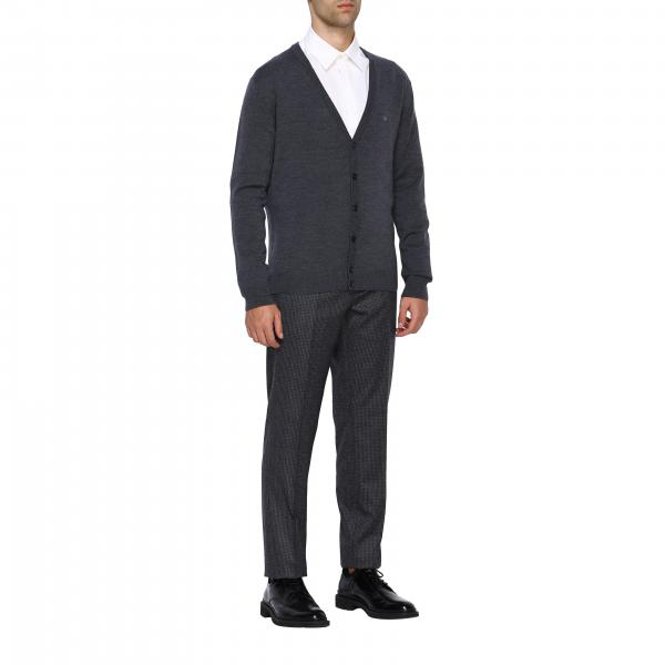 Micro America Lana Pantalone Tasche Quadro Uomo BaronioReef W1900 Yb6gf7y