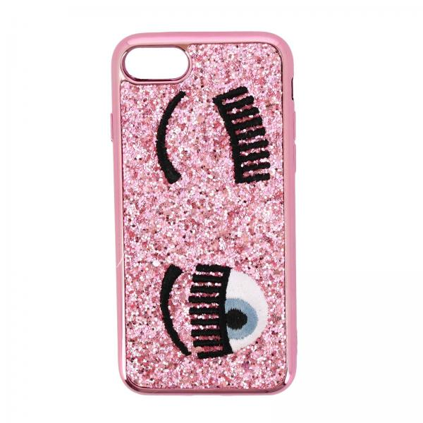 Cover Iphone 7/8 Eyes Flirting Glitter Chiara Ferragni