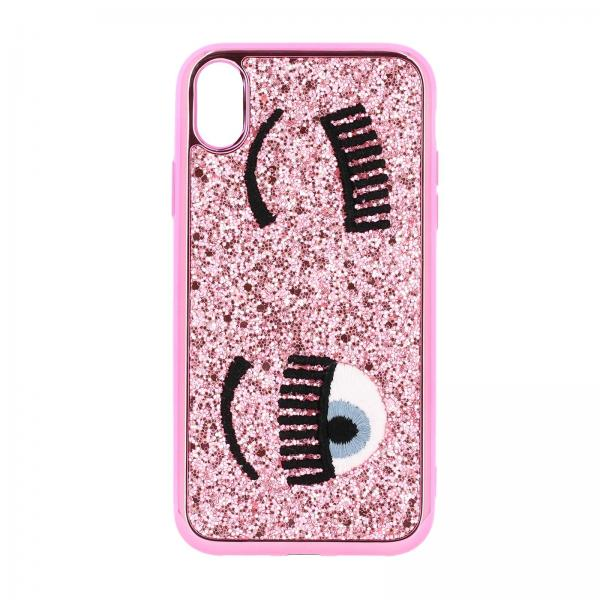 Cover Iphone Eyes Flirting Glitter Chiara Ferragni
