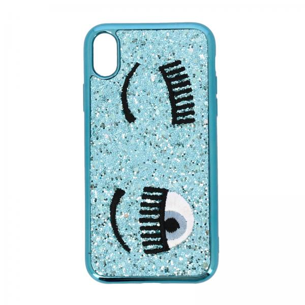 Cover Iphone xr Eyes Flirting Glitter Chiara Ferragni