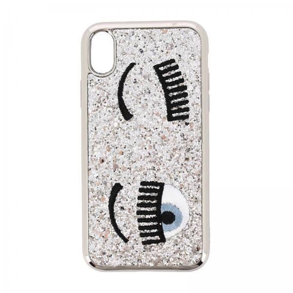 Чехол Iphone xr Eyes Flirting Glitter Chiara Ferragni
