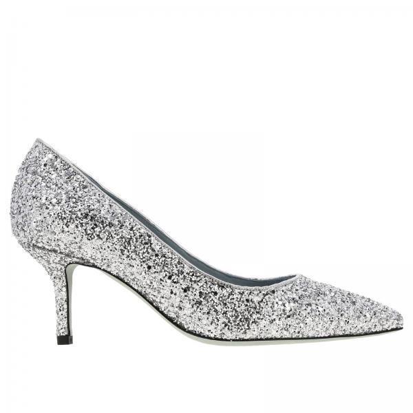 Туфли Chiara Ferragni из блестящей ткани