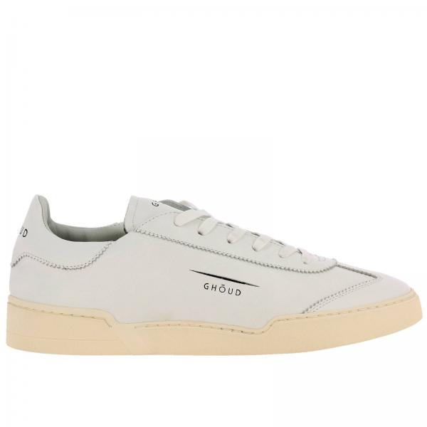 Globo Ghoud leather sneakers with rubber sole and logo