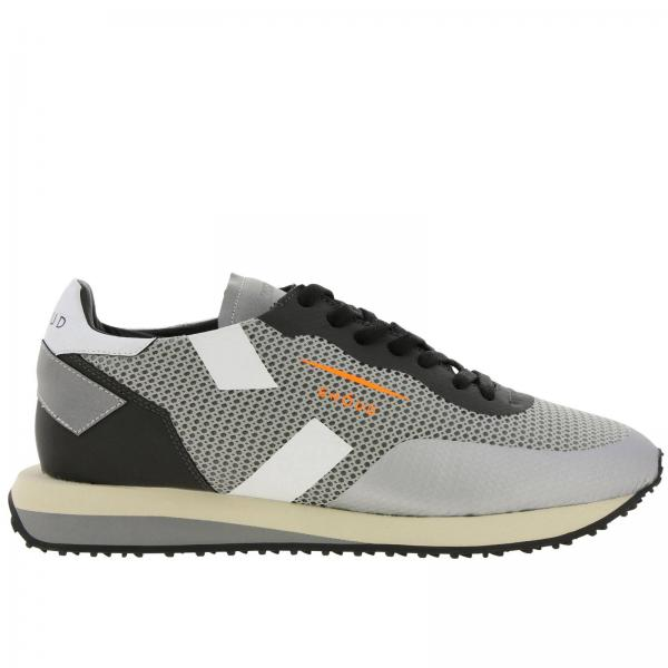Rush Ghoud sneakers in mesh and suede with rubber finishing and maxi bicolor sole
