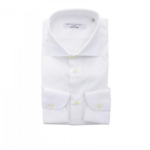 Camicia Brian Dales Camicie con collo francese in cotone slim
