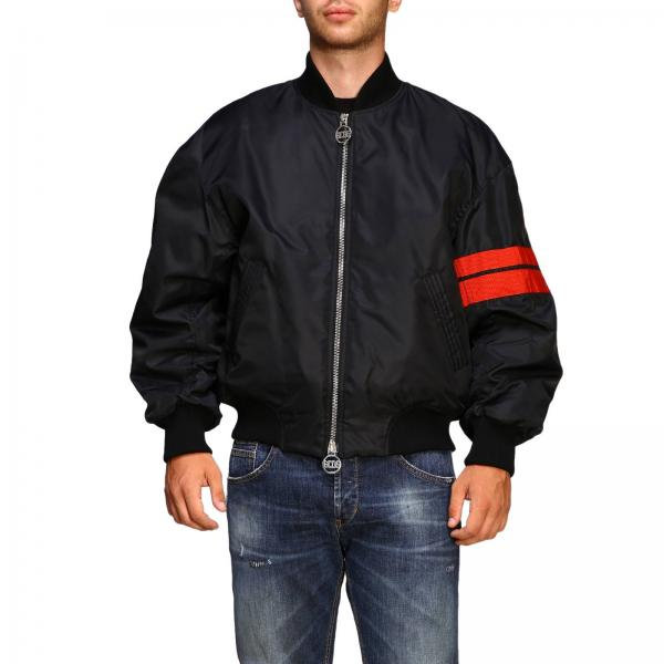 Bomber GCDS in nylon con big logo
