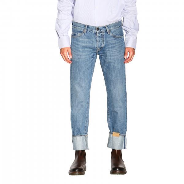 Jeans Cosmy Tela Genova slim in denim stretch fondo 17,5